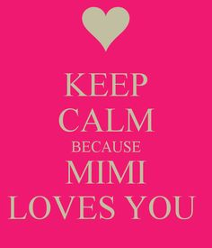 And Mimi prays for you! Love my granddaughters to the moon and back!