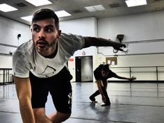 JoshuaBeamish in rehearsal today for #rougeetnoir #theashleybouderproject @balletincleve @ashleybouder pic.twitter.com/bsFd9ZUHRp Debuts October 25, 2014 in Cleveland!