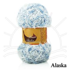 Fio Piemonte Alaska Composição: 61,4% Poliéster, 27,7% Acrílico, 10,9% Poliamida Contém: 118,3m Fabricante: Linea Italia