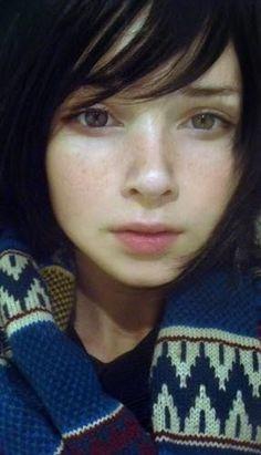 Picture of Katya Lischina Cute Girl Face, Cute Girl Photo, Half Japanese, Girls Short Haircuts, Asian Eyes, Russian Beauty, Aesthetic People, The Bikini, Cute Faces