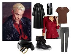 """""""Spike Casual Female Cosplay"""" by katewithpaint ❤ liked on Polyvore featuring GUESS, Emilia Wickstead, Twenty, Old Navy, Paige Denim, Soda, Illamasqua, women's clothing, women's fashion and women"""