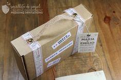 invitación de boda M&E