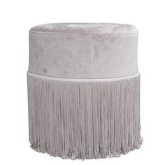 Franziis puff lys grå velour - designerhome.no Interior Inspiration, Ottoman, Traditional, Chair, Furniture, Home Decor, Metal, Stool, Interior Design