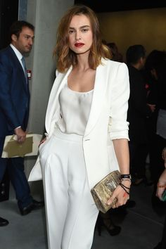 12 Women Who Chose Power Suits Over Party Dresses 12 times a power suit looked better than a party dress Looks Street Style, Looks Style, Party Fashion, Work Fashion, Formal Fashion, Fashion News, White Fashion, Fashion Tag, Office Fashion