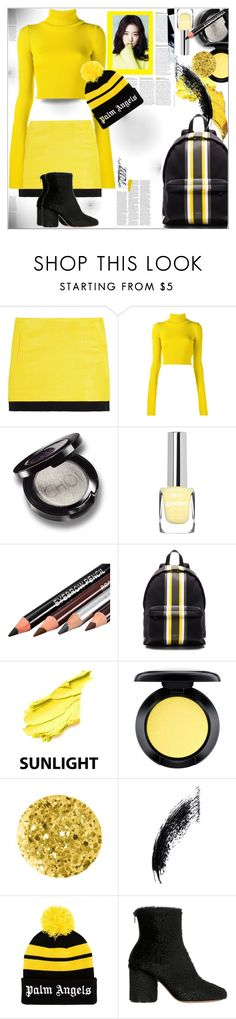 """""""Casual Day"""" by dragananovcic ❤ liked on Polyvore featuring Diane Von Furstenberg, Jacquemus, Givenchy, Shany, MAC Cosmetics, Anna Sui, Shin Choi, Palm Angels and Maison Margiela"""