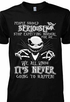 I want this shirt sooooo bad! Tim Burton, Emo Outfits, School Outfits, Cute Outfits, Cute Shirts, Funny Shirts, Nightmare Before Christmas Drawings, Jack The Pumpkin King, Jack And Sally