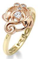 Gold 'Origin' ring
