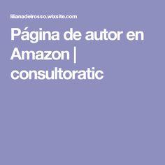 Página de autor en Amazon   consultoratic