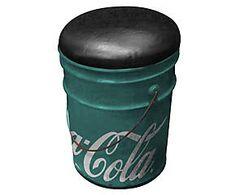 Banco balde coca-cola contemporary - energy