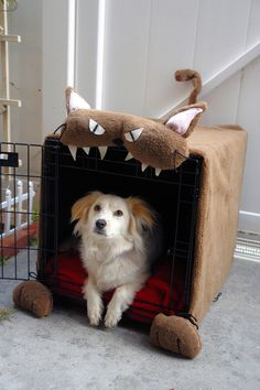 Best dog crate cover ever.