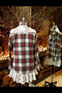 Sweet Salvage Designs~Springfield Oregon Sweet Salvage Designs~Springfield Oregon This image has get Redo Clothes, Sewing Clothes, Diy Fashion, Ideias Fashion, Diy Clothing, Cowgirl Clothing, Cowgirl Fashion, Altered Couture, Shirt Refashion
