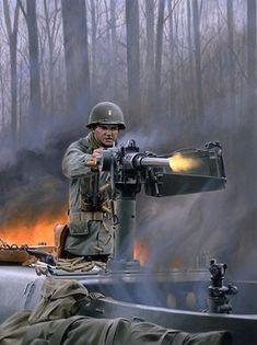 """Audie Murphy Medal of Honor Recipient"" – art by Larry Selman"