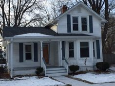 If you have an appreciation for the charm of an older home, park-like yards & the ability to walk to Adams elementary school, then this could be the property for you! The 14x13 kitchen has lots of cabinets, granite counter tops & all appliances included. The nicely updated bath offers private access to the main floor master bedroom. There's a 13x13 separate dining space and a lovely living room with a bay window design. Both inviting spaces have hardwood floors and lots of light....