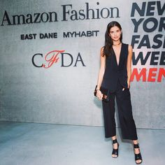 Thank you @cfda @amazonfashion for a fun night. And in love with this @rachel_roy outfit ☺️ @thelionsny