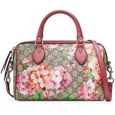 3a211fcffa0f Gucci - blooms GG supreme top handle bag so in love with this line. Much  like how I was with the red poppies Coach collection back in the mid