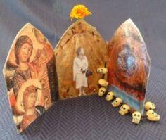 Easy to-make tabletop shrine for honoring ancestors