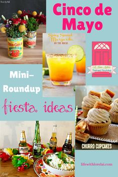 No time for a siesta! Let us help you plan your Cinco de Mayo celebrations with awesome fiesta ideas. Plus, link up at Home Matters with recipes, DIY, crafts, decor. Fiesta Theme Party, Party Themes, Party Ideas, Holiday Drinks, Holiday Parties, Tequila, Kentucky Derby, Fruit Drinks, Fresh Fruit