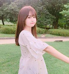 Image about girl in k-style✨ by ddaeng on We Heart It Korean Girl Photo, Cute Korean Girl, Cute Asian Girls, Cute Girls, Korean Beauty, Asian Beauty, Cute Kawaii Girl, Cartoon Girl Images, Beauty Makeup Photography