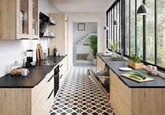 Les gens qui ont toujours une cuisine impeccable font ça – Vintage Home Decor Home Decor Kitchen, Interior Design Kitchen, New Kitchen, Home Kitchens, Kitchen Dining, Decorating Kitchen, Kitchen Ideas, Eclectic Kitchen, Kitchen Wood