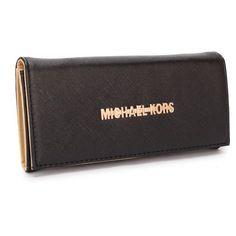 Michael Kors Fulton Carryall Large Black Wallets