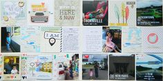 Project Life: Leaving My Heart Once Again! ~ EarthyScrap #ProjectLife #PocketPages #SimpleStories