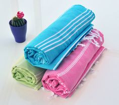 Baby Cotton Towel 3 PCS Pool Lake Water Under The Sea Natural Handmade Handcrafted Towels On Sale Spa Cloth Party Favor Cotton Washcloth