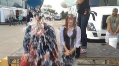 ALS Ice Bucket Challenge - Amy Adams & Henry Cavill