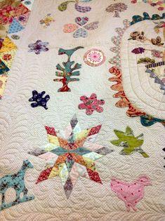 Leona's Antique Baby Crib Quilt - design by Marg Sampson George