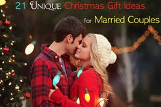 21 Unique Christmas Gift Ideas for Married Couples