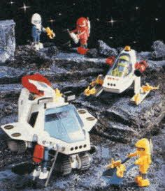 Playmobil Space Adventure Set From The 1980s