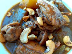 According to CNN Thai Massaman Chicken Curry is number one on the top 50 dishes in the world. Now that is saying something! Although many recipes on the internet use store-bought curry paste, I&#82… Used Store, Curry Paste, Chicken Curry, Pot Roast, Healthy Eating, Internet, Number, Dishes, Ethnic Recipes