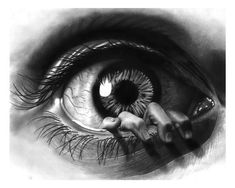 Eyes Artwork, Tattoo Artwork, Tattoo Drawings, Dark Art Drawings, Art Drawings Sketches, Sketch Tatto, Eye Sketch, Trendy Tattoos, Tattoos For Guys