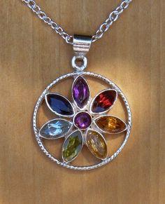 White Magick Alchemy - Lotus Chakra Sterling Silver Pendant, $38.95 (http://www.whitemagickalchemy.com/lotus-chakra-sterling-silver-pendant/)