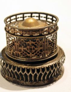 Antique Opium Lamp with Cover  $1,100