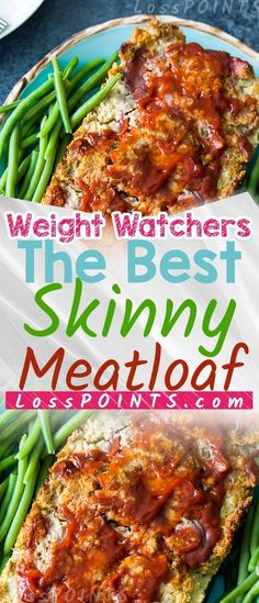 THE BEST SKINNY MEATLOAF If you havent tried myskinny meatloafyet I think youre going to love it! Its low in caloriesWW Freestyle SmartPoints. Any leftovers makesgreatsandwiches! INGREDIENTS 1 pound extra lean ground beef see shopping tips 1 slices m Weight Watchers Diet, Weight Watchers Smart Points, Weight Watcher Dinners, Weigh Watchers, Skinny Recipes, Ww Recipes, Snack Recipes, Cooking Recipes, Easy Cooking