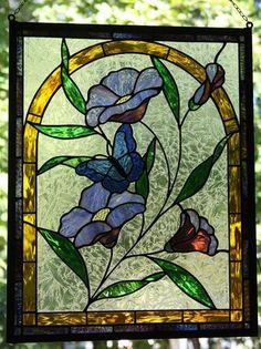 Stained Glass Art | Summer Garden Butterfly (2011)