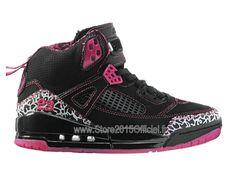 Jordan Spizike - Chaussures Baskets Nike Air Jordan Pas Cher Pour Femme Noir 535712-061A Basket Nike Air, Baskets Nike, Jordan Tenis, Jordan Spizike, High Top Sneakers, Sneakers Nike, Air Jordan, T 4, Authentique