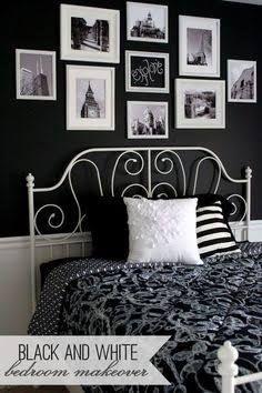 Resultado De Imagem Para Bedroom Black And White Fem