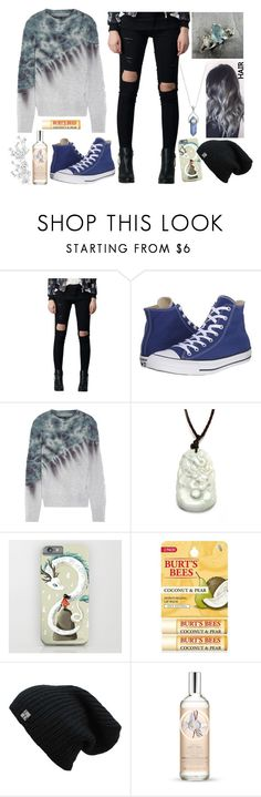 """""""No Title #137"""" by emily102901 ❤ liked on Polyvore featuring Converse, Raquel Allegra, Burt's Bees and The Body Shop"""