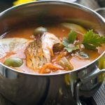 Jacque Pepin, Romanian Food, Romanian Recipes, Fish Soup, Fish Dishes, Seafood Recipes, Thai Red Curry, Deserts, Cooking