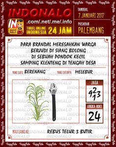 Kode Jaga 3D Togel Wap Online Live Draw 4D Indonalo Palembang 7 Januari 2017
