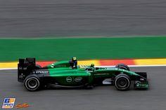 Marcus Ericsson, Caterham, 2014 Belgian Formula 1 Grand Prix, Formula 1