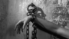 Imprisoned, Captured, Trapped, locked up, prisoner,