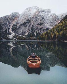Wouldnt mind a nap there Lago di Braies Italy | Hannes Becker Say Yes To Adventure