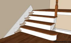 THE BEST Stair Skirting Tutorial I have read