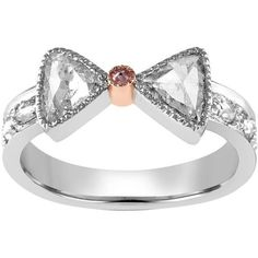 Preowned Rosecut Diamond Gold Promise Ring ($3,950) ❤ liked on Polyvore featuring jewelry, rings, multiple, diamond rings, 18k gold ring, diamond accent rings, yellow gold rings and pre owned diamond rings