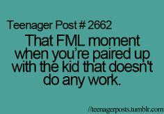 fml, life, lol, post, school - inspiring image #316613 on Favim.com