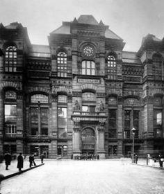 Chicago Board of Trade 1915 Photo