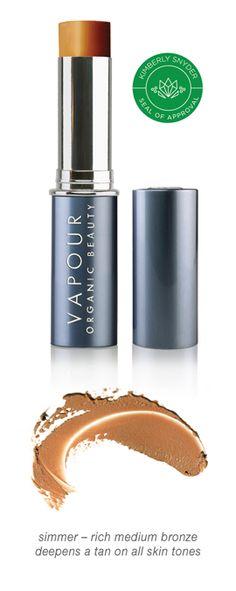 Vapour Organic Beauty Solar Translucent Bronzer, Allure Best of Beauty Award Winner | Glowing Natural Color | Makeup Artist Favorite