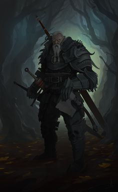 ArtStation - The old hunter, Adrian Mihai Marchidan